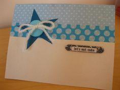 Little boy/baby boy birthday card
