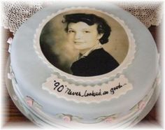 90th birthday cake ideas | SMILE - and people will smile back.