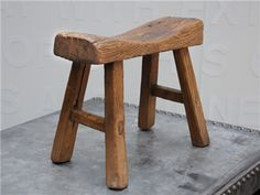 I'm obsessed with vintage milking stools. I have already bought two...