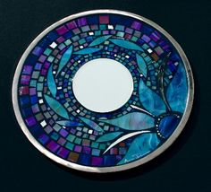 Mosaic Twilight Garden (NOTE TO SELF: This theme would look great for the birds watering area!)