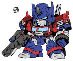 Optimus has been working out