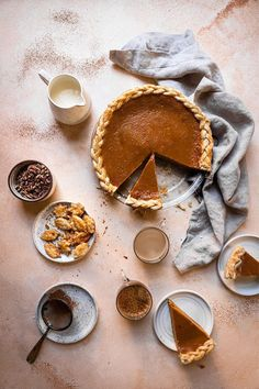This Pumpkin Pie is what Thanks Giving is all about. A Tender and flaky crust filled with smooth and spicy pumpkin filling and topped with whipped cream. |#pumpkinpie #pumpkinrecipe #pumpkindessert #pierecipe #thanksgivingpie #fallbaking #falldessert #smoothpumpkinpie #easypumpkinpie #pumpkinpuree #pumpkinspice |