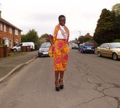 Shorts and Scarf- My African Closet