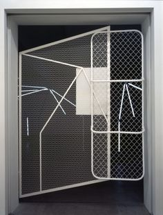 Martin Boyce, We are Resistant. We Dry Out in the Sun (This place opens and unfolds us), 2004 Workshop Studio, Dark Matter, Moleskine, Installation Art, Textile Design, Geometry, Concept, Sculpture, Pattern
