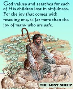 lost coin and lost sheep parable summary