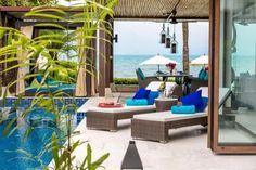 Lotus Samui (SHA Plus+) | เกาะสมุย - ราคาดีสุดๆ คลิกจองได้เลย Outdoor Seating, Outdoor Decor, Outdoor Furniture Sets, Koh Samui Thailand, Patio, Villas, Buddha, Lord, Calm