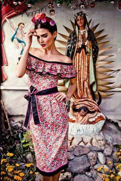Frida Inspired Vogue Mexico
