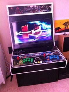 Page 1 sur 2 - [Tuto] Créer sa propre borne d' Arcade - posté dans Autres consoles: Bonjour à tous... Étant un vieux gamer, j ai eu le plaisir, voir la chance, de connaitre les bonnes vieilles salles d arcades. Quel bonheur de jouer à des jeux tel que Street Fighter 2, Mortal Kombat ou autre Samuraî Shadown, des jeux magnifiques pour l époque comparé au jeux que nous possédions à la maison... Je me souviens encore de la 1ère fois que j ai vu Virtua Fighter dans une salle Oo HALLUCINAN......