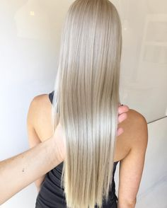 """Blonde Hair Colour Studios on Instagram: """"This hair is amazing - bleached every 6 weeks with added @olaplexau and toned to a pearl blonde #maneaddicts #olaplexau #olaplex #hb4l #behindthechair #olaplex #hairideas #wellahair #wellaeducation #vivalablonde"""""""