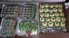 Doce de leite ninho modelado, cupcake Turma do chaves by Angel Artes e Festas. Veja mais em nossa página www.facebook.com/angelartes