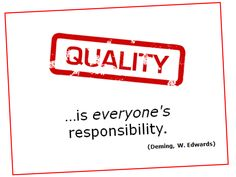 Could it be our understanding of 'Quality'…that is BROKEN, perhaps ...