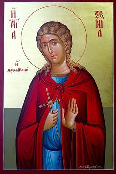 St. Zenia / St. Xenia of Kalamata by Costas Gerasimou