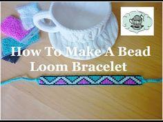DIY Bead Loom Bracelet How-To ¦ The Corner of Craft - YouTube