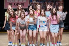 Kpop Girl Groups, Korean Girl Groups, Kpop Girls, Boy Groups, Seolhyun, Ioi Doyeon, Jimin, Jung Chaeyeon, Choi Yoojung