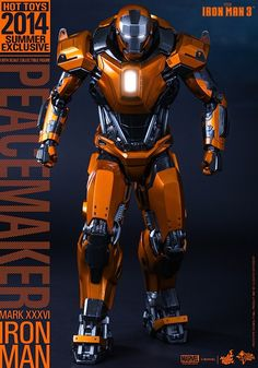 Hot Toys – – Iron Man Scale Peacemaker (Mark XXXVI) Collectible Figure Summer Exclusive) Specification~ Movie Masterpiece Series ~The scale Peacemaker (Mark XXXVI) Collectible […] Iron Man Suit, Iron Man 3, Image Painting, Scale, Marvel, Superhero, Comics, Toys, Summer