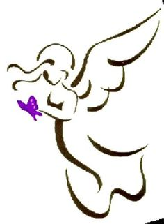 I like this >> Angel Define tattoo...can be fairly holding a rose or a coronary heart...