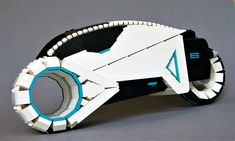 Cruise virtual worlds in the LEGO Tron Vintage Light Cycle