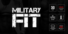 Military Fit: 30-Day Fitness Program - focusing on functional fitness, NOT suitable for beginners