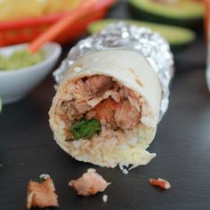 Chipotle Mexican Grill Steak (or chicken) and Rice Burrito! So easy to make at home!