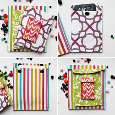 Diy: smartphone and tablet cases ✔ diy // crafts // fitness забавности. Sewing Tutorials, Sewing Crafts, Sewing Projects, Do It Yourself Projects, Diy Projects To Try, Diy And Crafts, Arts And Crafts, Diy Sac, Cute Cases