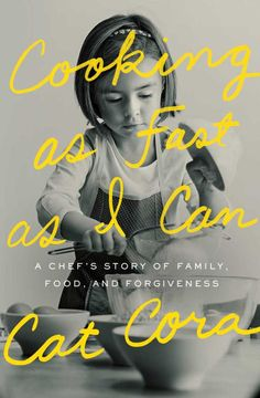 Cooking as Fast as I Can by Cat Cora; design by Janet Hansen (Scribner / September 2015) | via The Casual Optimist