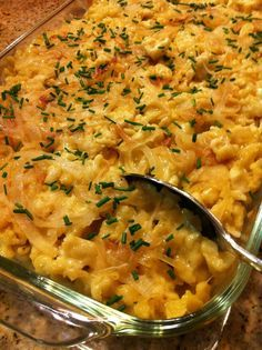 Octoberfest Party Spaetzle- Kase spaetzle for the kids! Why didn't we do this last year?!?
