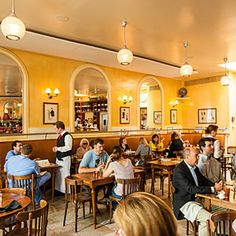 Chez Fonfon, Birmingham, AL  What to Order: Hamburger Fonfon or Trout Amandine. Chef Frank Stitt's French bistro, with a boules court out back, ranks as my favorite local drop-in spot. I like to grab a seat at the bar, order the burger (a study in perfection, topped with rich Comté cheese) or the trout amandine in brown butter (crisp and tangy, bistro fare at its best),