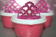 5 Princess Play Dough Party Favor Box Princess Party by JOEandCo