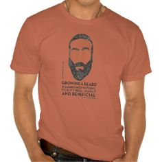 Manly & Beneficial Tee Shirts #funny #beard #t-shirt