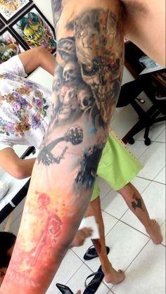 terminator tattoo by BuZuca