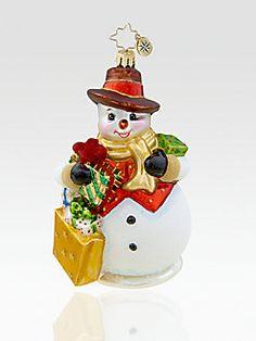 Christopher Radko - Fifth Avenue Frosty Ornament