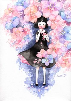 GALLERY of Mayuko Ogura Illustration