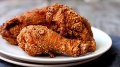 Copycat KFC™ Original-Style Chicken - KFC original with their biscuits... divine. So many memories attached this flavor.
