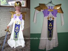 Princess Zelda from Nintendo Costume  sc 1 st  Pinterest & The Legend of Zelda Princess Zelda Cosplay Costume made in any size ...