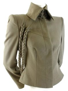 Alexander McQueen A/W 2001 'What a Merry Go Round' Runway Jacket For Sale at 1stdibs