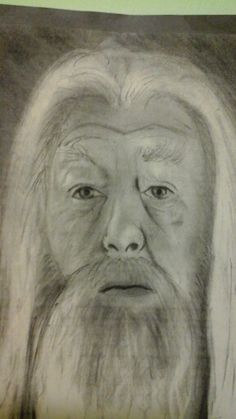 Dumbledore My Arts, Painting, Painting Art, Paintings, Paint, Draw