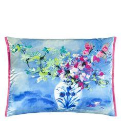 Designers Guild Laterza Fuchsia cushion