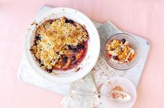 Bored of traditional apple crumble? Try this sweet and exotic peach and coconut crumble instead! This quick and simple recipe takes just 20 minutes prep for a deliciously different dessert the whole family will love. Serve with cream or ice cream or custard.