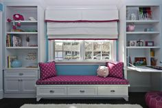 Great idea for additional storage in Lucy's new room!