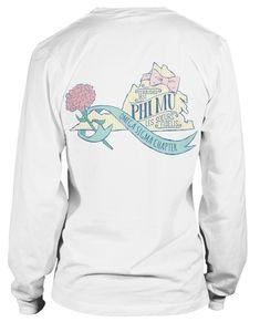 1514 Phi Mu State of Virginia T-shirt | GreekShirts