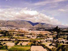 Vista de la Ciudad de Ibarra desde Los Soles