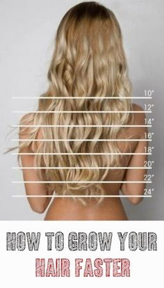 How to grow your hair faster: 1 to 2 inches in just 1 week - The Ultimate Beauty Guide