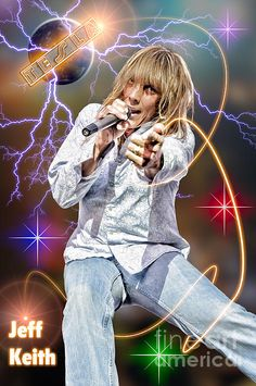 Jeff Keith of Tesla.