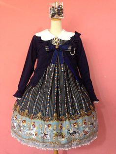 Metamorphose - Wonder Carousel Angel Collar Dress