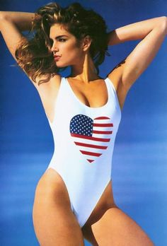 Cindy Crawford, so 80's on that one