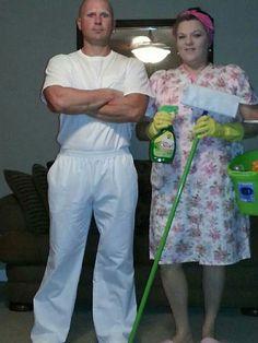 mrs mr clean halloween 2013