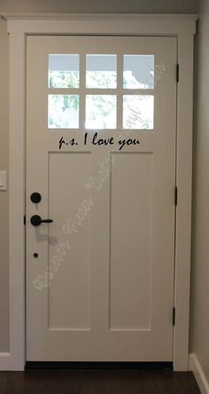 I Love You wall decal - Custom Vinyl Lettering and Decals - P. I Love You wall decal Custom Vinyl Lettering and Decals Home Improvement Projects, Home Projects, Vinyl Projects, Home Renovation, Home Remodeling, Basement Renovations, Custom Vinyl Lettering, Sweet Home, My Dream Home