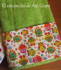 Resultado de imagen para toallas decoradas para baños