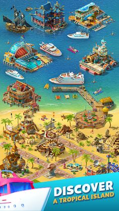 Hotel Games, Special Games, Island 2, Hidden Objects, Best Resorts, Unique Animals, Paradise Island, Mini Games, Natural Phenomena