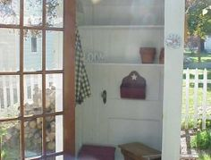 DIY Four-Door Shed | The Owner-Builder Network Garden Sheds Uk, Garden Tool Shed, Garden Tool Storage, Backyard Sheds, Door Storage, Shed Storage, Easy Diy Projects, Wood Projects, Cute Garden Ideas